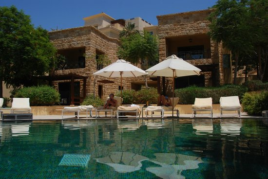 Kempinski Hotel Ishtar Dead Sea: Unsere Zimmer mit Privatpool