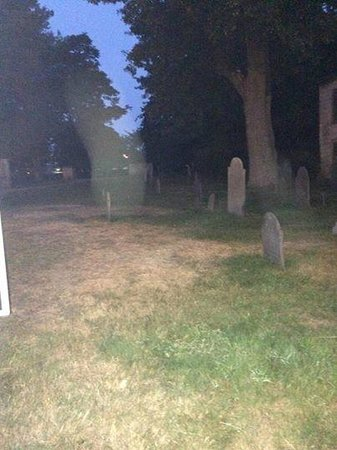 Spellbound Tours: Possible energy in Salem Old Burying Point Cemetery
