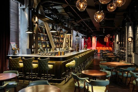Bar urbo is located on the second floor picture of urbo new york