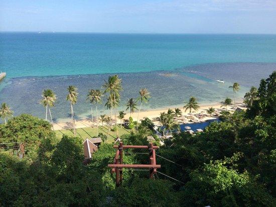 InterContinental Samui Baan Taling Ngam Resort: View from Premium Oceanview Room