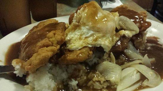Hawaiian Style Cafe: Chicken Loca Mocha
