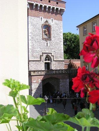 Hotel Polski Pod Bialym Orlem: Вид из окна