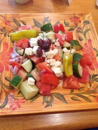 Overseas Kitchen: Athens salad