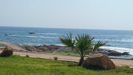 Amphora Hotel & Suites : вид на море с лежаков