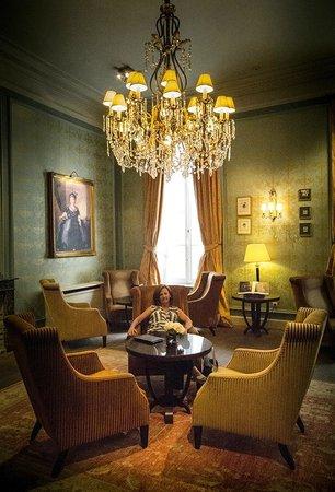 Grand Hotel Casselbergh Bruges: Lounge