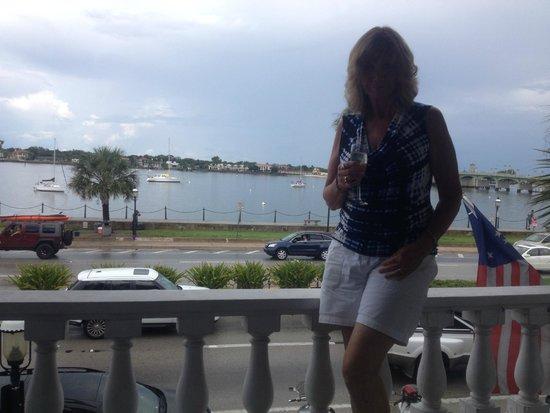 Casablanca Inn on the Bay: Balcony View of Bay