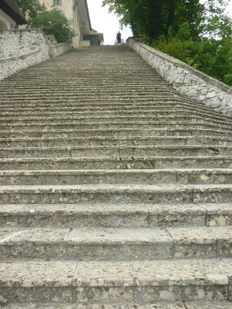 Church of the Assumption: The 99 steps