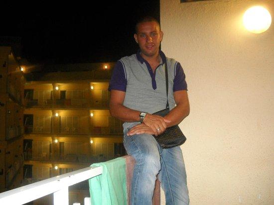 Gran Hotel Flamingo: balcone