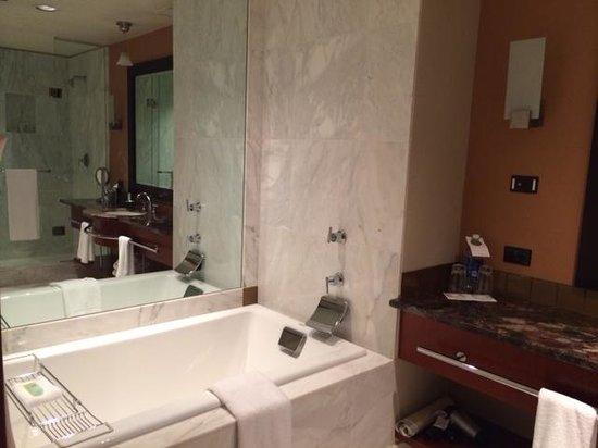 Grand Hyatt Seattle: Very large bathroom with all amenities