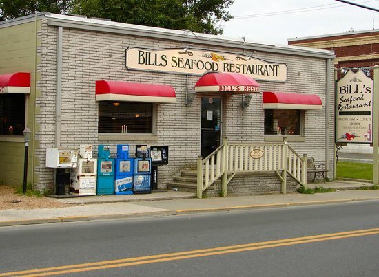 Bill's Seafood Restaurant in Chincoteague, VA
