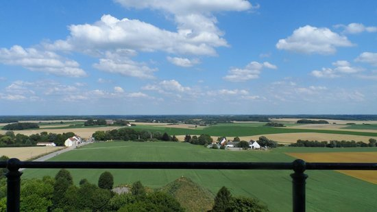 Waterloo Battlefield: View from the top
