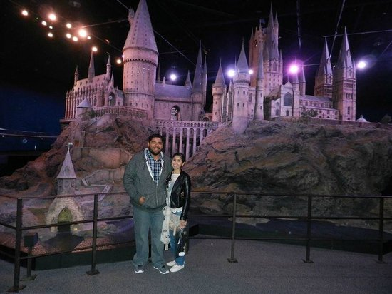 Warner Bros. Studio Tour London - The Making of Harry Potter: Life size castle built to film for the movie