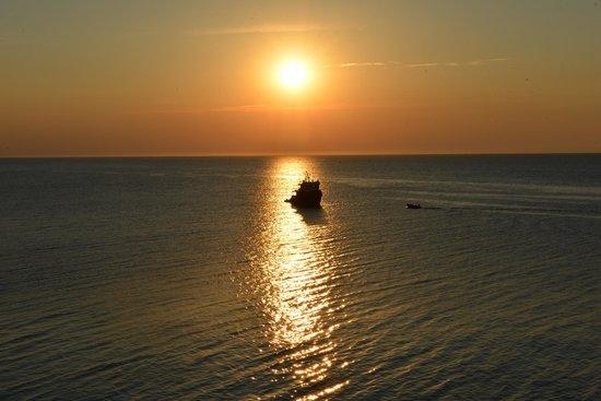 Trabucco di Monte Pucci: Sunset at Monte Pucci