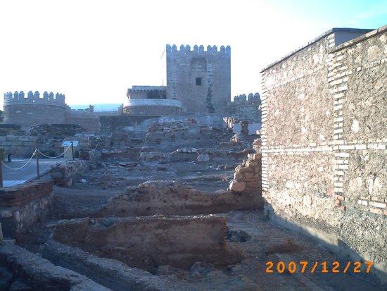 Conjunto Monumental de La Alcazaba: une des tours