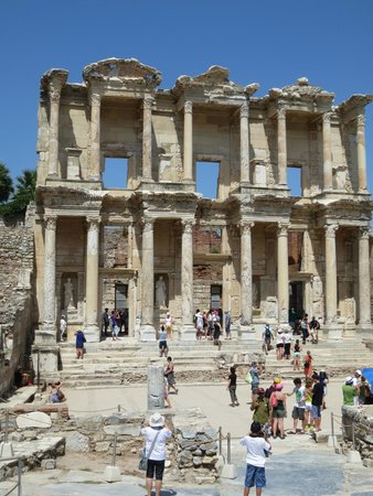 Vieille ville d'Éphèse : La biblioteca di Celso