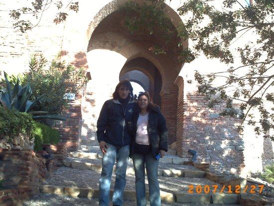 Conjunto Monumental de La Alcazaba: dans le jardin