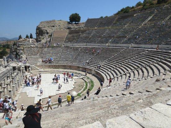 Vieille ville d'Éphèse : Il teatro.