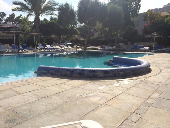 Paphos Gardens Holiday Resort : Hidden pool with bar