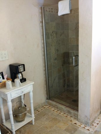 Monte Verde Inn: Bathroom view of Queen Room #9