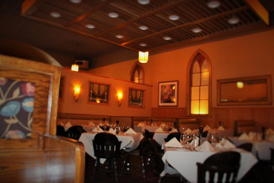 Mission Grille: Remodeled church building