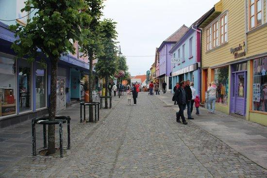 Old Stavanger: Vialetto di Stavanger.