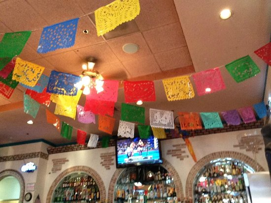 Azteca Kelso: Decorations pub/lounge