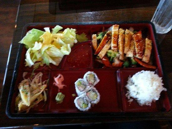 Okinawa: Teriyaki chicken box lunch