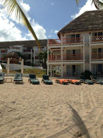 Sunscape Sabor Cozumel: Parte del hotel, muy tranquilo.