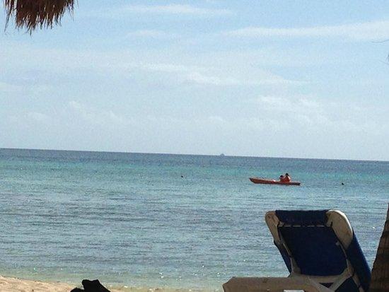 Sunscape Sabor Cozumel: La playa del hotel, hermoso, tranquilo, para esnorquear.