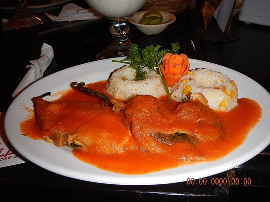 The Royal Cancun All Suites Resort: Chile Relleno downtown Cancun Restaurant