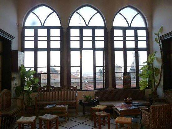 The Fauzi Azar Inn : la réception, magnifique