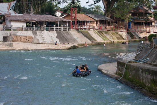 Wisma Leuser Sibayak : View from the river
