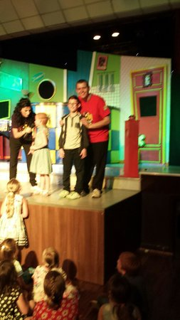 Cayton Bay Holiday Park - Park Resorts: Josh on stage with Tamworth