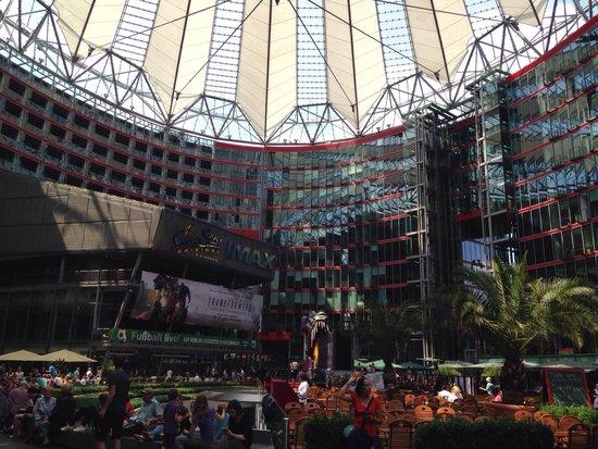 Potsdamer Platz : Inside Sony