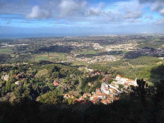 Castle of the Moors : View from Castelo dos Mouros