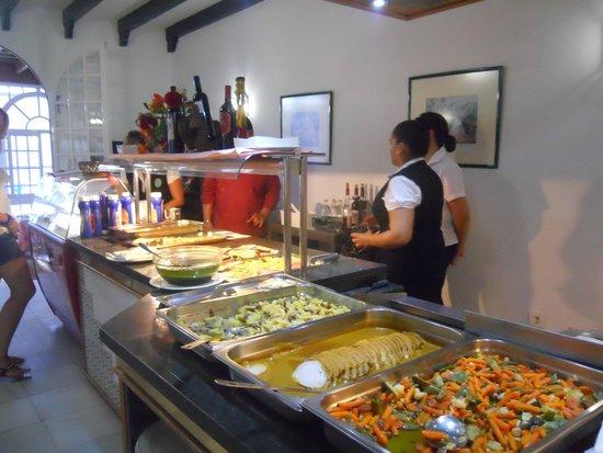 Brasilia: buffet