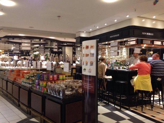 Kaufhaus des Westens (KaDeWe): Nice place to eat