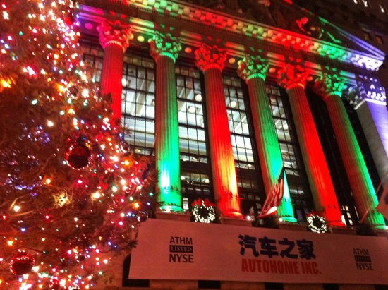 OnBoard New York Tours: Wall Street Holiday 2013