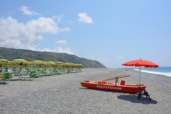 Park Hotel Tyrrenian: Spiaggia