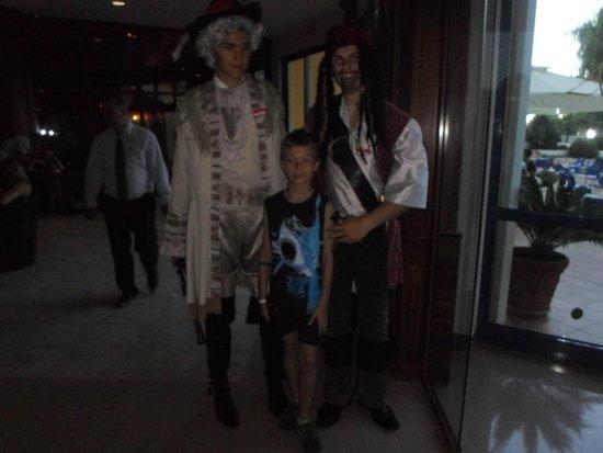 Grifid Hotel Arabella: The pirates party