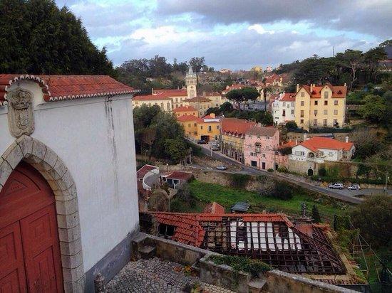 Palacio Nacional de Sintra: View of the town from National Palace of Sintra