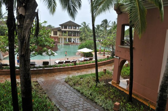 Park Hyatt Goa Resort and Spa: pool view from room