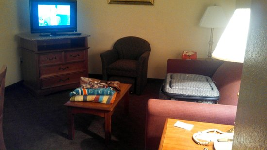 Clarion Inn & Suites: Living Room Area