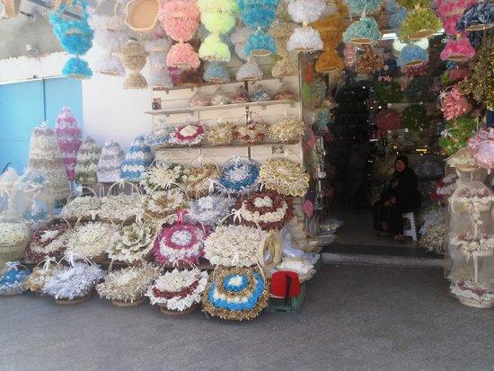 Medina de Túnez: Miejscowe wyroby