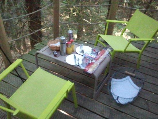 Les Ormes, Domaine & Resort: Petit déjeuner!