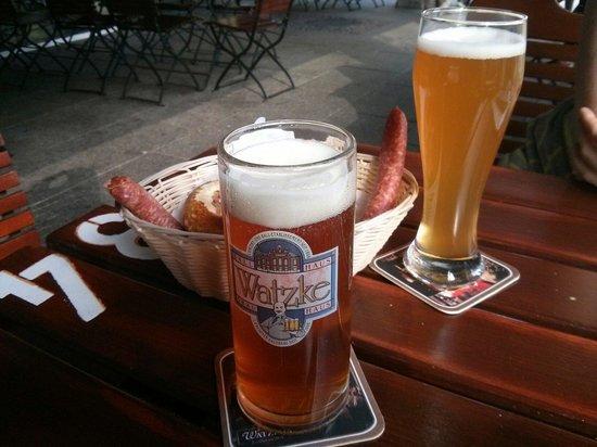 Watzke Brauereiausschank am Goldenen Reiter: Kleine Sacks ;-)