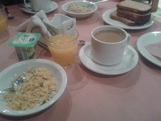 Wilton Hotel: Desayuno