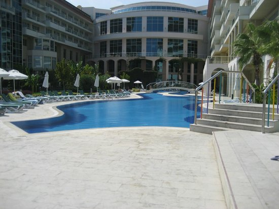 Barut Kemer : The hotel is exectly the same as at the site photos