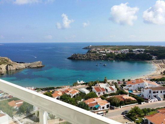 Fiesta Hotel Castell Playa: View from balcony