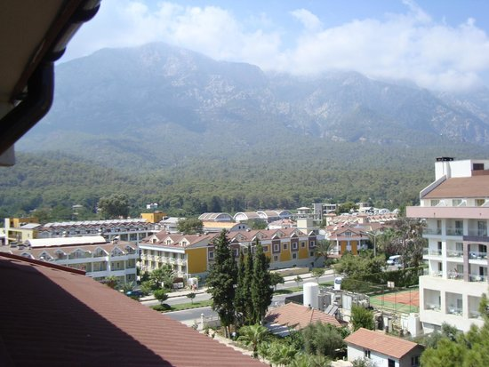 Barut Kemer : The view from the Mountain View room 1